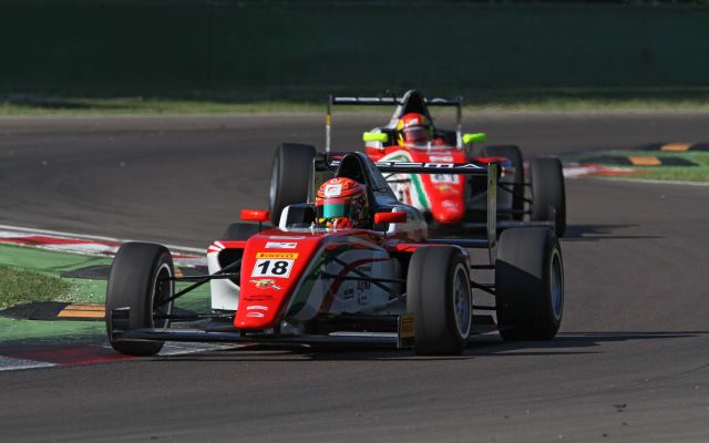 Stroll Beats Maisano To Take Race One Win At Imola Formula Scout