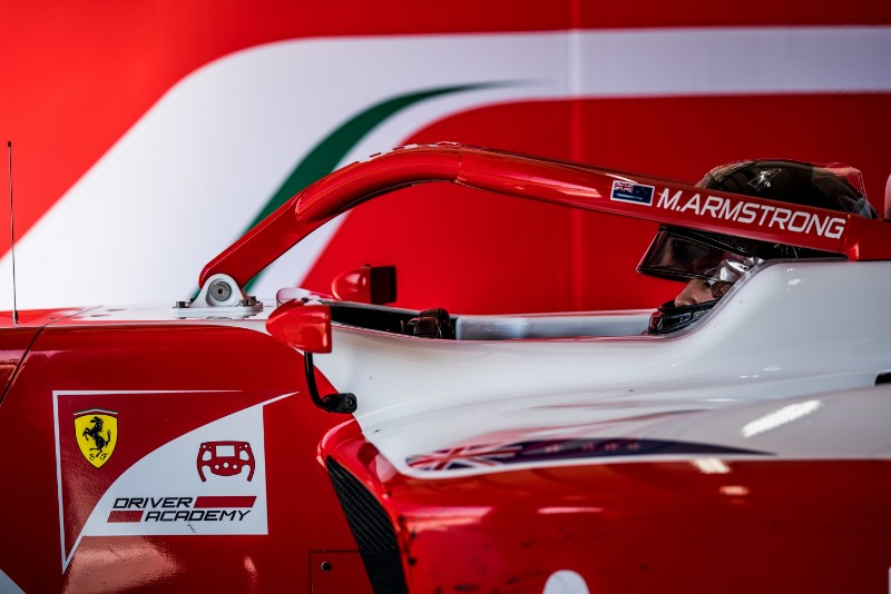 Ferrari Driver Academy Sets Up New Base In Oceania Formula Scout
