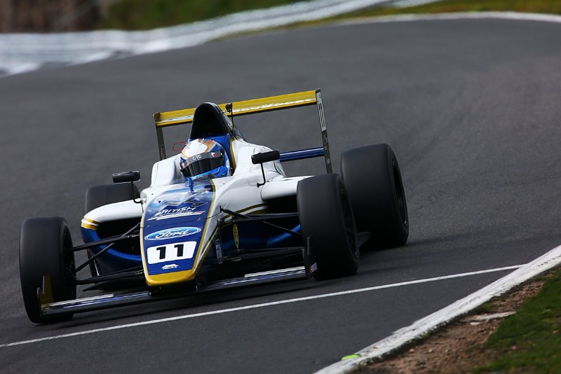 Luke Browning wins first 2019 British F4 race from 10th on grid